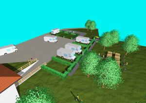 rendering area camper