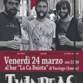 24/03/2017 | Twin Peas ensamble in concerto a La Ca buiota di Vacciago