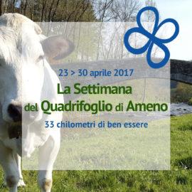 23 – 30 aprile 2017 | La Settimana del Quadrifoglio, 33 chilometri di ben essere