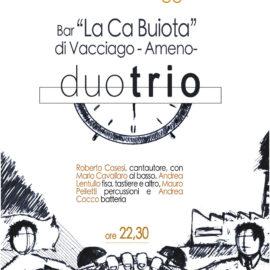 27/05/2017 | DuoTrio in concerto a La Ca Buiota di Vacciago