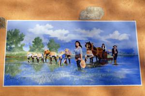 quadrifoglio-blu-5-Legro,-case-dipinte