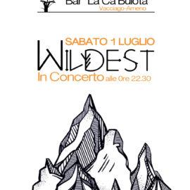 1/07/2017   Wildest in concerto a La Ca Buiota di Vacciago