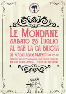 Le Mondane, concerto a La Ca Buiota