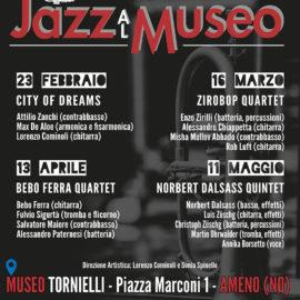 dal 23/02/2018 | Jazz al Museo – rassegna di concerti a cura del Jazz Club Borgomanero