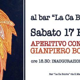 17/02/2018 | Aperitivo con l'artista a La Ca Buiota di Vacciago