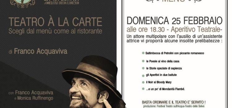 25/02/2018 | Teatro à la carte alla Ca Buiota di Vacciago