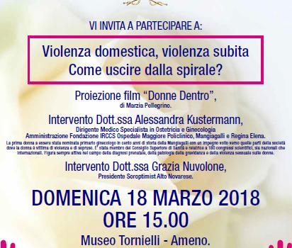 18/03/2018 |Giornata contro la Violenza sulle Donne