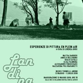 13/05/2018 | Inaugurazione della mostra: LANDINA – Esperienze di pittura en plein air