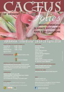 Cactus Folies @ Verbania