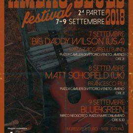 7/09 – 9/09 | Amenoblues festival 2018
