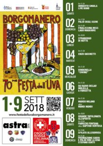 Settembre 1 e 9 Borgomanero Festa dell'uva