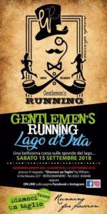 Settembre 15 Gentlemen's running