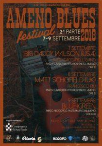 Settembre 7 e 9 Ameno Blues
