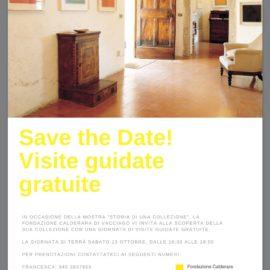 13/10/2018 | La Fondazione Calderara chiude la stagione espositiva con una giornata di visite guidate gratuite