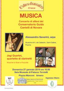 Concerto degli allievi del Conservatorio Guido Cantelli di Novara