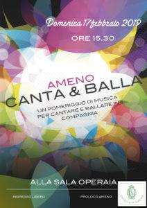 Una domenica pomeriggio di musica per cantare e ballare insieme!