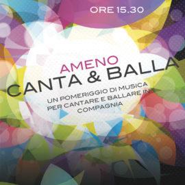 17/02/2019 | Una domenica pomeriggio di musica per cantare e ballare insieme!