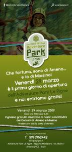 Apertura di Adventure Park Le Pigne