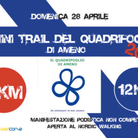 28/04/2019 | Mini Trail del quadrifoglio di Ameno