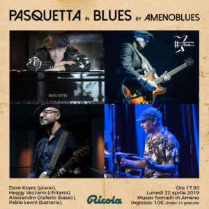Pasquetta in Blues by Amenoblues
