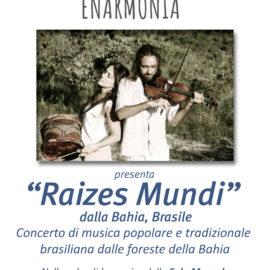 "12/07/2019 | Enarmonia presenta il concerto ""Raizes Mundi"""