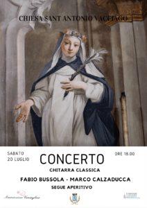 Concerto di chitarra classica