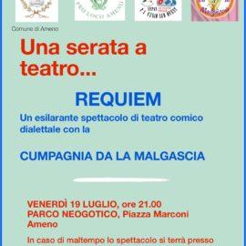 19/07/2019 | Spettacolo teatrale Cumpagnia Da La Malgascia