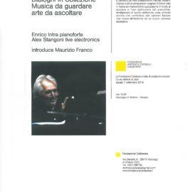 07/09/2019 | Concerto del pianist Jazz Enrico Intra a Vacciago