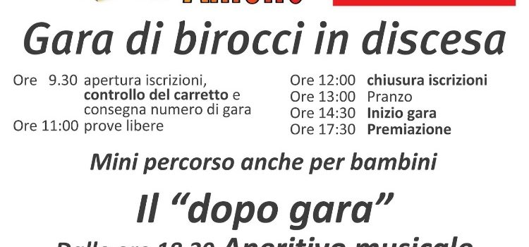 25/08/2019 | La Cùrsa di Barlesc ad Ameno