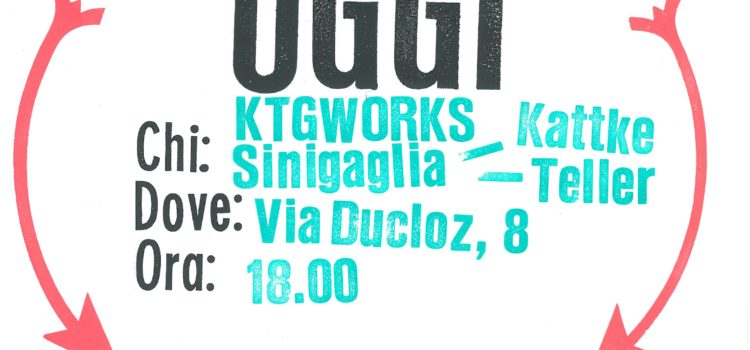 03/08/2019 | Programma odierno Dada Festival ad Ameno