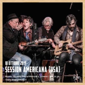 AmenoBlues: ritorna al Museo Tornielli la Session Americana