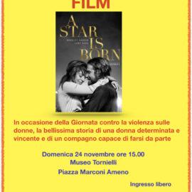 24/11/2019 | In occasione della giornata contro la violenza sulle donne 'A STAR IS BORN'