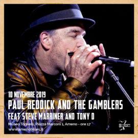 10/11/2019 | Concerto di Paul Reddick a cura di AmenoBlues