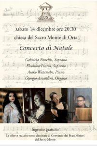 Concerto di Natale al Sacro Monte di Orta