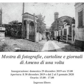 29/12/2019 | Inaugurazione mostra Ameno Amarcord