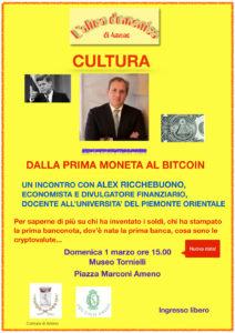 Dalla prima moneta al bitcoin