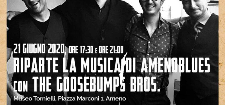 21/06/2020 | Al Museo Tornielli, riparte la musica di AmenoBlues