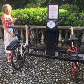 Nuova stazione di ricarica per biciclette elettriche ad Ameno