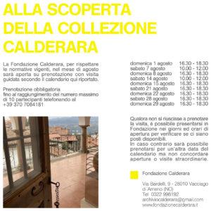 Visita guidata alla Fondazione Calderara
