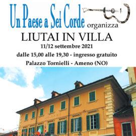 11-12/09/2021 | Liutai in Villa